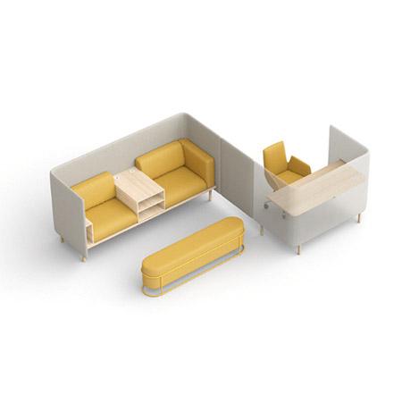COR Tisch Floater Kombination